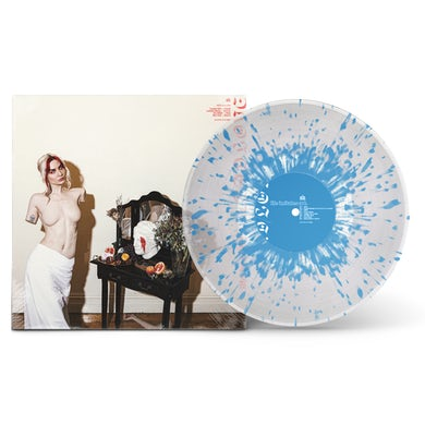 "Bad / Love Life Imitates Art 12"" Vinyl (Clear w/ Baby Blue Splatter)"