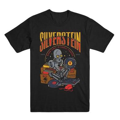 Silverstein Vinyl Robot Tee