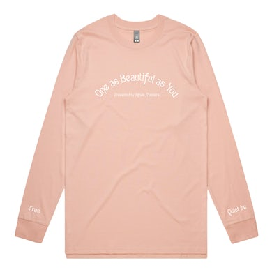 Agnes Manners One As Beautiful As You Longsleeve (Pale Pink)