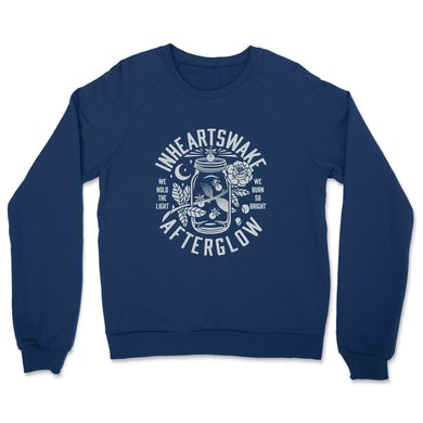 In Hearts Wake Afterglow Crewneck (Navy)