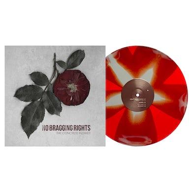 "The Concrete Flower 12"" Vinyl (Red & Grey Pinwheel)"