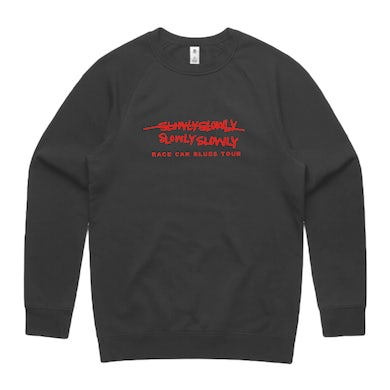 Slowly Slowly RCB Embroidered Crew (Coal)