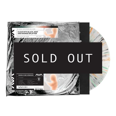 """Angels & Airwaves Lifeforms 12"""" Vinyl (Clear w/ Black, Mint and Orange Splatter)"""