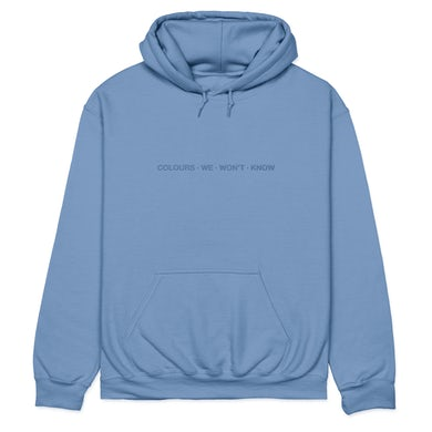 Colours We Won't Know Hoodie (Indigo Blue)