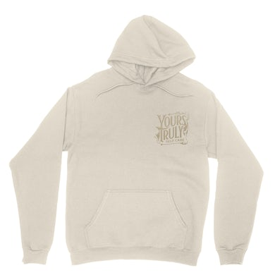 Yours Truly Crest Embroidered Hoodie