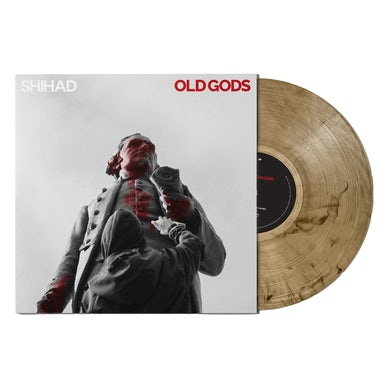"""Shihad Old Gods 12"""" Vinyl (24Hundred Exclusive - Gold With Black Haze)"""