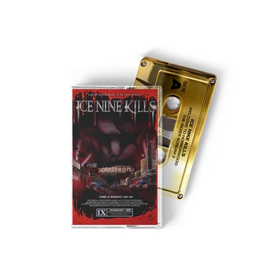 ICE NINE KILLS Welcome To Horrorwood Cassette (Rolex Gold)