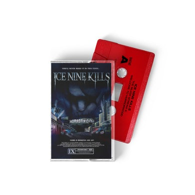 ICE NINE KILLS Welcome To Horrorwood Cassette (Lady In Red)