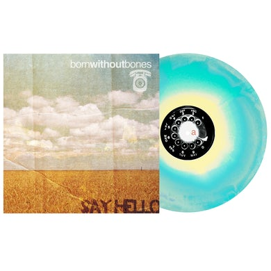 """Say Hello 12"""" Vinyl (Easter Yellow, Bone, Electric Blue aside/bside)"""