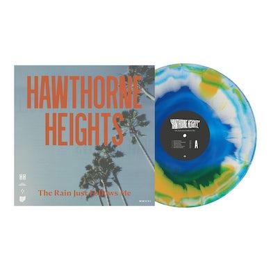 "Hawthorne Heights The Rain Just Follows Me 12"" Vinyl (Sea Blue, White & Halloween Orange)"