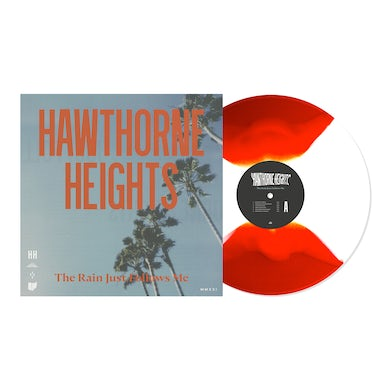 """Hawthorne Heights The Rain Just Follows Me 12"""" Vinyl (White and Blood Red Butterfly)"""