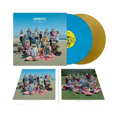 """The Wombats Proudly Present... This Modern Glitch 12"""" Vinyl (Sky Blue/Gold 10th Anniversary Edition)"""