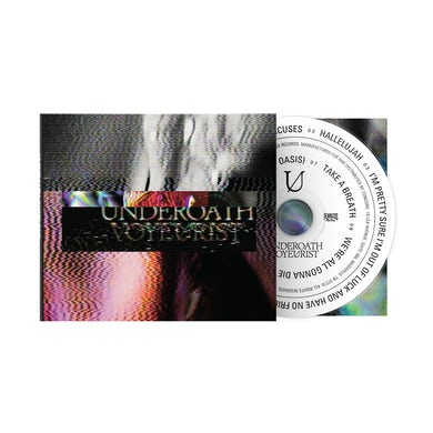 Underoath Voyeurist CD