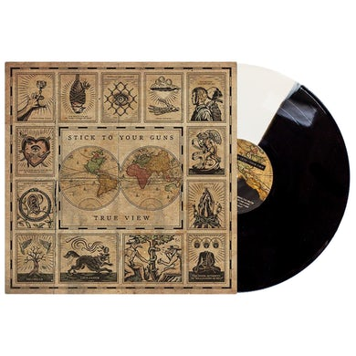 "Stick To Your Guns True View 12"" Vinyl (Half Black/Half White)"
