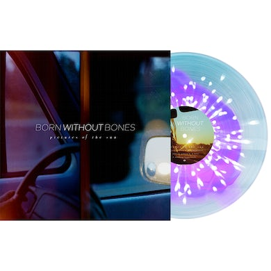 """Pictures of the Sun 12"""" Vinyl (Neon Violet in Electric Blue with White Splatter)"""