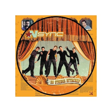 """*NSYNC No Strings Attached 12"""" Vinyl (Limited Edition Picture Disc)"""