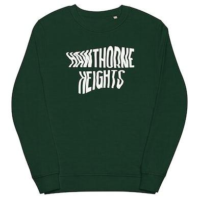 Hawthorne Heights Logo Crewneck (Forest Green)