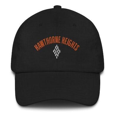 Hawthorne Heights Logo Dad Hat (Black)