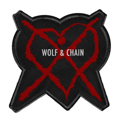 Wolf & Chain Amor Mortal Patch
