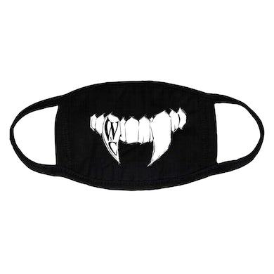 Wolf & Chain Teeth Mask (Black)