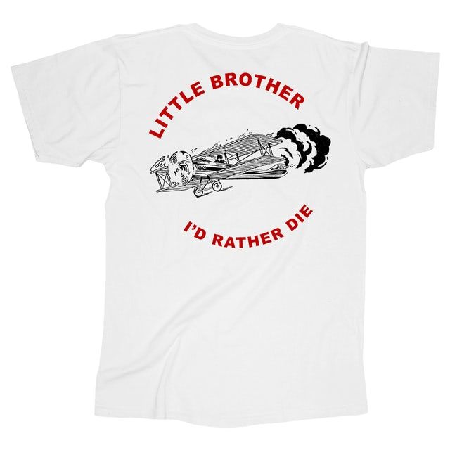 Little Brother Rather Die Tee (White)