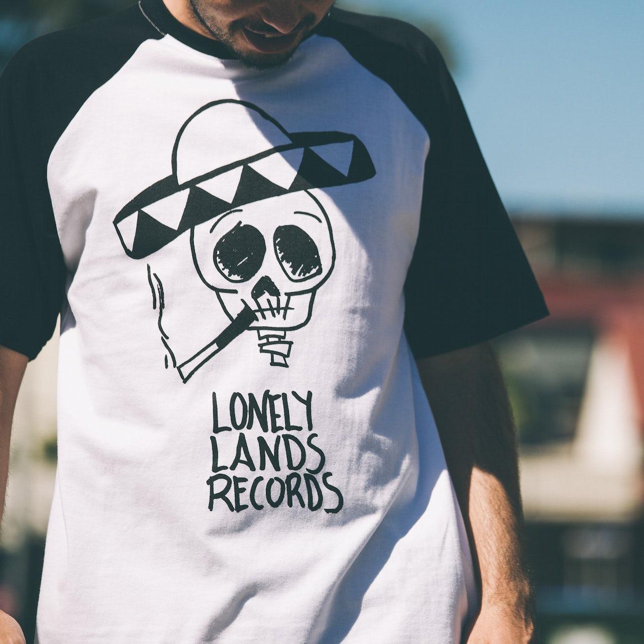 Tash Sultana Lonely Lands Records Raglan (White/Black)