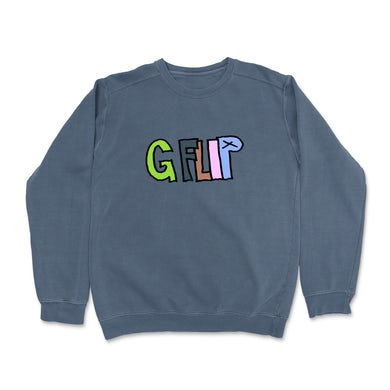 G Flip Comfort Crewneck (Denim)