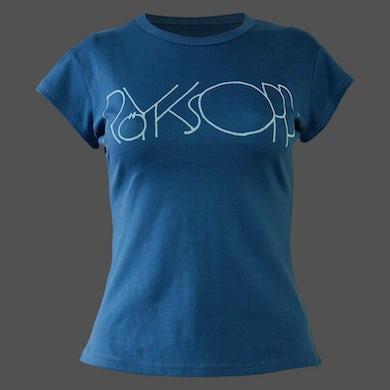 Royksopp Slate Logo Capped Sleeve T-Shirt