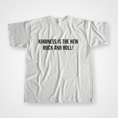 Peace Kindness Is The New Rock And Roll T-Shirt