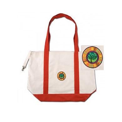 Laurie Berkner Band Logo Natural/Orange - Tote Bag