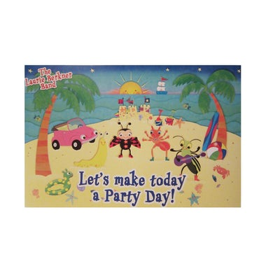 Laurie Berkner Party Day! Autographed - Poster