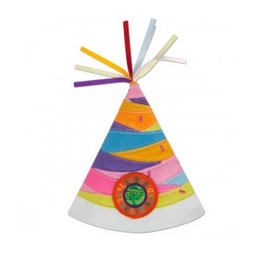 Laurie Berkner Party Day! Pink Multicolor - Party Hat