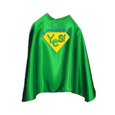 "Laurie Berkner Yes! Superhero Cape Youth 30"" (Green)"