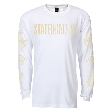 State Champs Around The World Long Sleeve (White)
