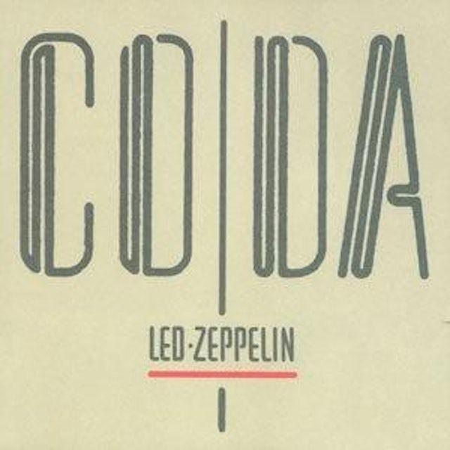Led Zeppelin CODA (REISSUE) (12'' Vinyl)