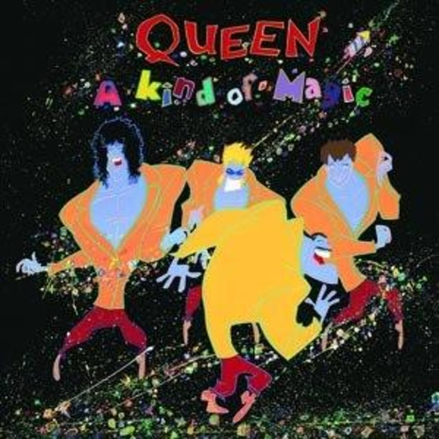 Queen A KIND OF MAGIC (LIMITED BLACK VINYL) (12'' Vinyl)
