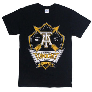 Tonight Alive Arrows Tee (Black)