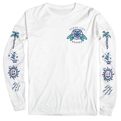 Hands Like Houses Beach Long Sleeve (White)