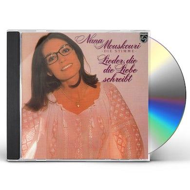 Nana Mouskouri LIEDER DIE LIEBE CD