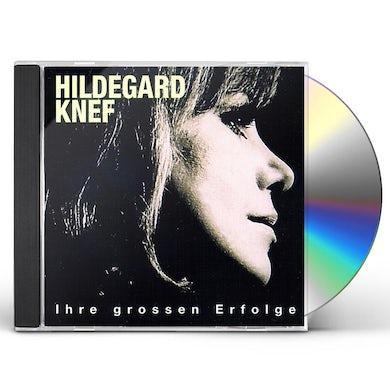 Hildegard Knef IHRE GROSSEN ERFOLGE CD
