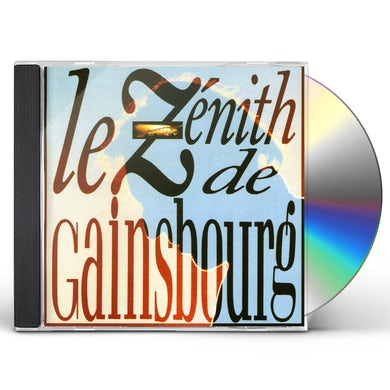 Serge Gainsbourg ZENITH DE GAINSBOURG CD