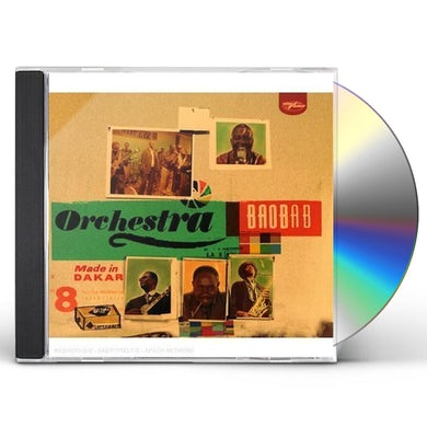 Orchestra Baobab MADE IN DAKAR CD