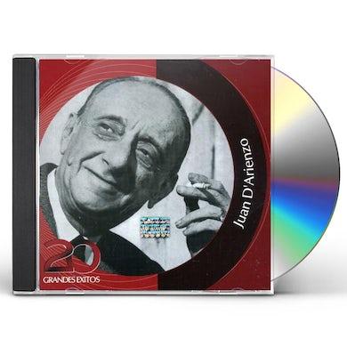 Juan d'Arienzo INOLVIDABLES RCA: 20 GRANDES EXITOS CD