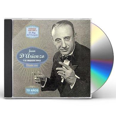 Juan d'Arienzo VIENTO SUR CD