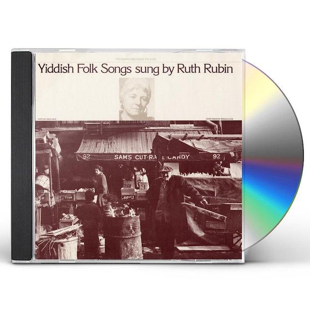 Ruth Rubin YIDDISH FOLK SONGS CD
