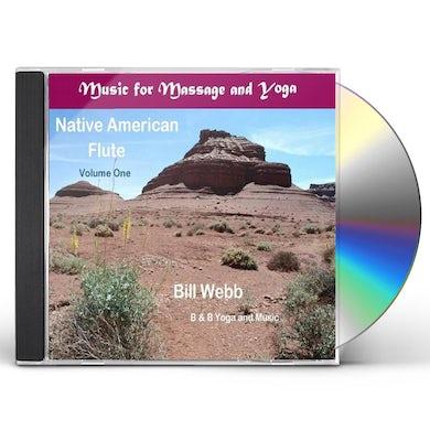 Bill Webb NATIVE AMERICAN FLUTE CD