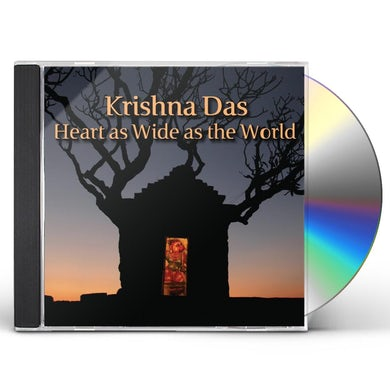 Krishna Das HEART AS WIDE AS THE WORLD CD