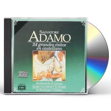 Salvatore Adamo 24 GRANDES EXITOS EN CASTELLAN CD