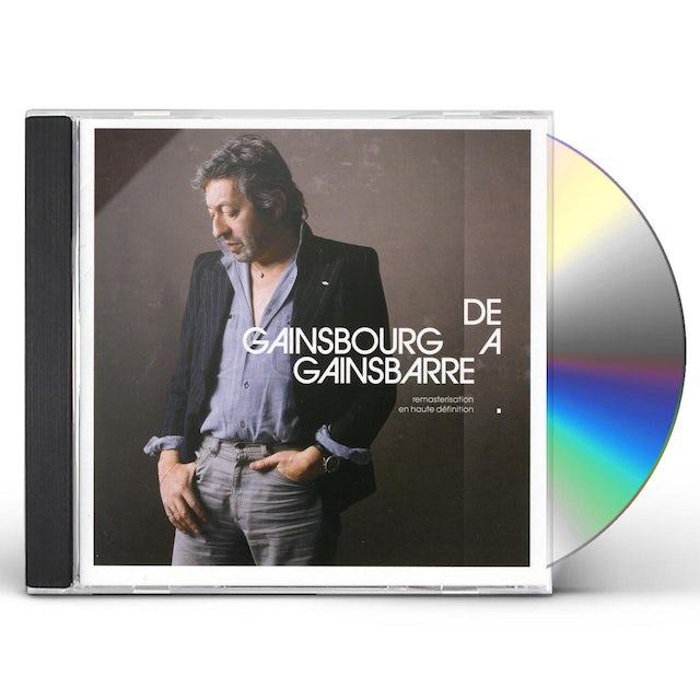 Serge Gainsbourg DE GAINSBOURG A GAINSBARRE CD