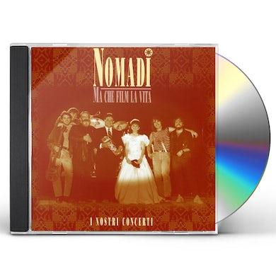 Nomadi MA CHE FILM LA VITA (LIVE) CD